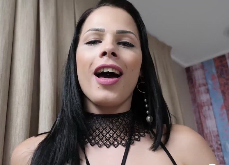 PinkoTgirls: (Bruna Castro, Bellatrix Fontes) - Two Friends Trannnies Have Fun Fucking [FullHD 1080p] (1.55 Gb)