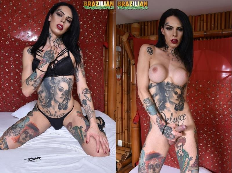 Brazilian-Transsexuals: (Gaby Ink) - TS Gaby Ink [HD 720p] (486.96 Mb)