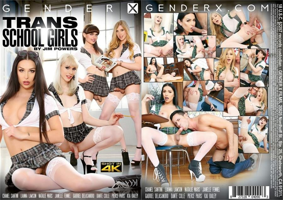 Gender X: (Chanel Santini, Natalie Mars, Lianna Lawson, Janelle Fennec) - Trans School Girls [SD] (1.49 Gb)