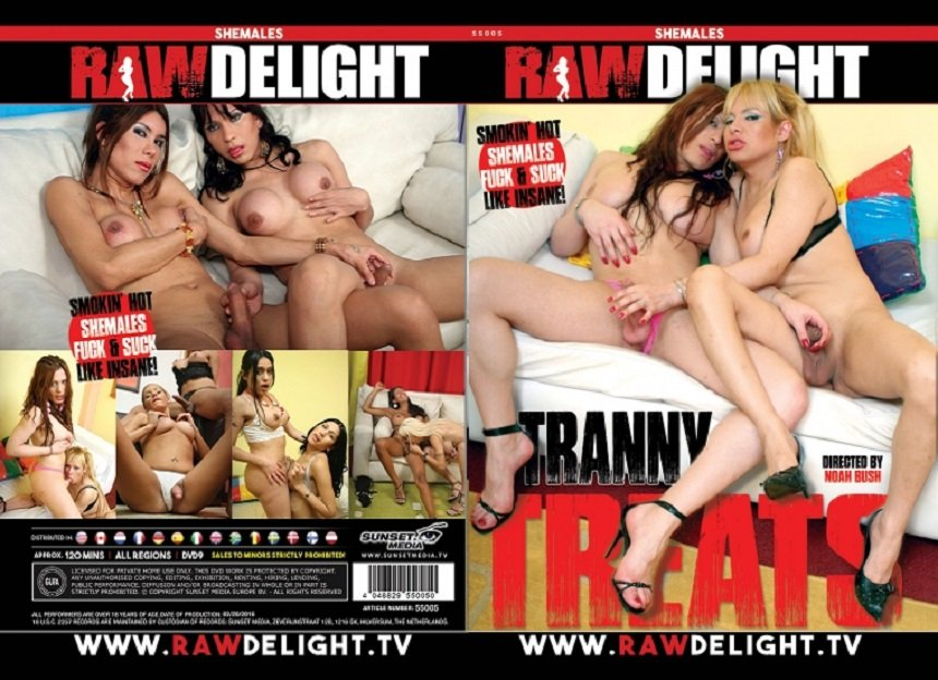 Raw Delight: (Noah Bush) - Tranny Treats [SD] (1.43 Gb)