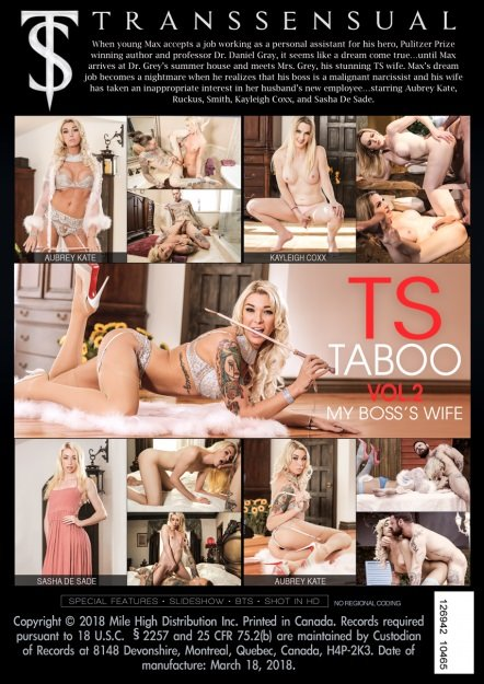 Transsensual: (Dana Vespoli) - TS Taboo #2: My Boss Wife [SD] (1,18 Gb)