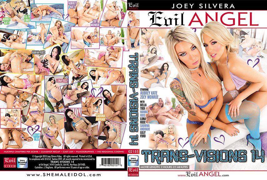 Evil Angel: (Aubrey Kate, Hanna Rios, Luna Rose) - Trans-Visions #14 [SD] (2.46 Gb)