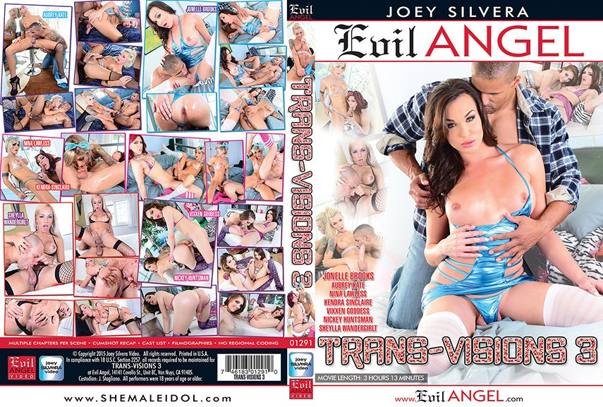 Evil Angel: (Joey Silvera) - Trans-Visions 3 [SD] (2.62 Gb)