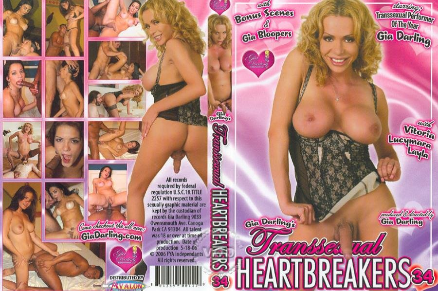 Gia Darling Entertainment: (Victoria Adams, Gia Darling, Layla, Lucimara) - Transsexual Heartbreakers 34 [SD] (1.47 Gb)