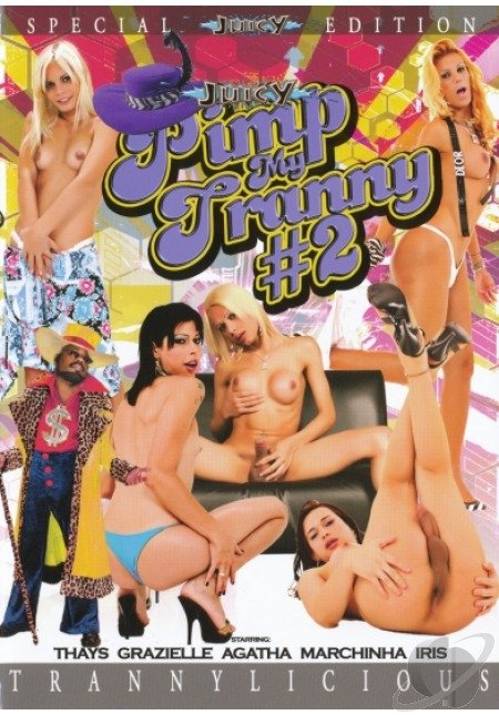 Juicy Entertainment: (Alana, Paola, Dyana, Alessandra, Monik, Yris, Hilda) - Pimp My Tranny [SD] (699.99 Mb)