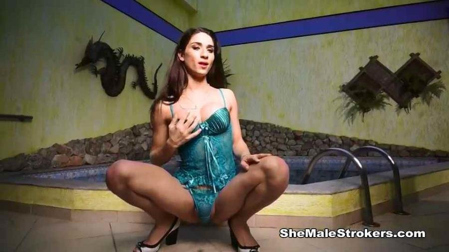 ShemaleStrokers.com: (Adriana Rodrigues) - solo [SD] (395.27 Mb)
