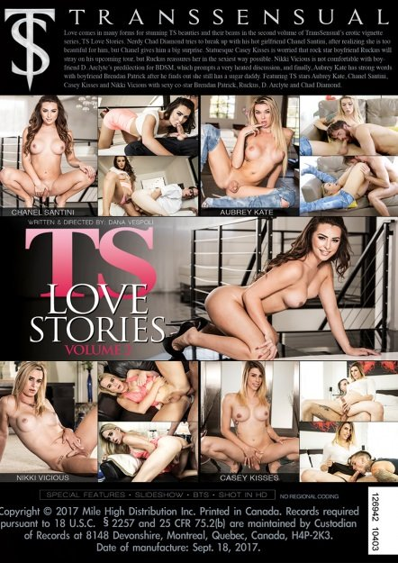 TransSensual: (Aubrey Kate, Chanel Santini, Casey Kisses) - TS Love Stories #2 [SD] (1.3 Gb)