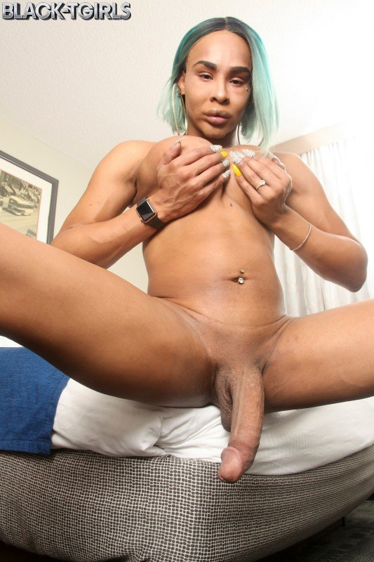 Black-TGirls.com: (Chyna) - Chyna Is Horny! [FullHD] (928,07 Mb)
