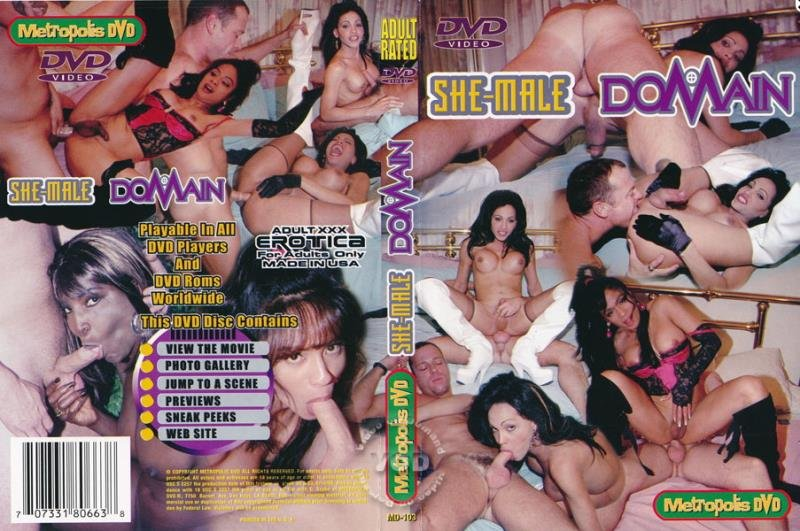 Metropolis DVD / Heatwave: (Rogue, Sweet Williams, Cinnamin) - She-Male Domain [SD] (697.13 Mb)