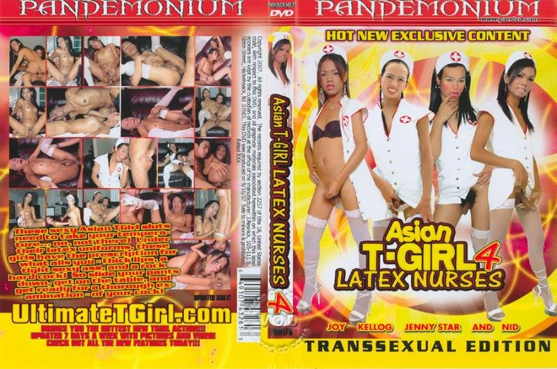 Pandemonium: (Kellog, Jenny Star, Nid, Joy) - Asian T-Girl Latex Nurses 4  [SD] (1.16 Gb)