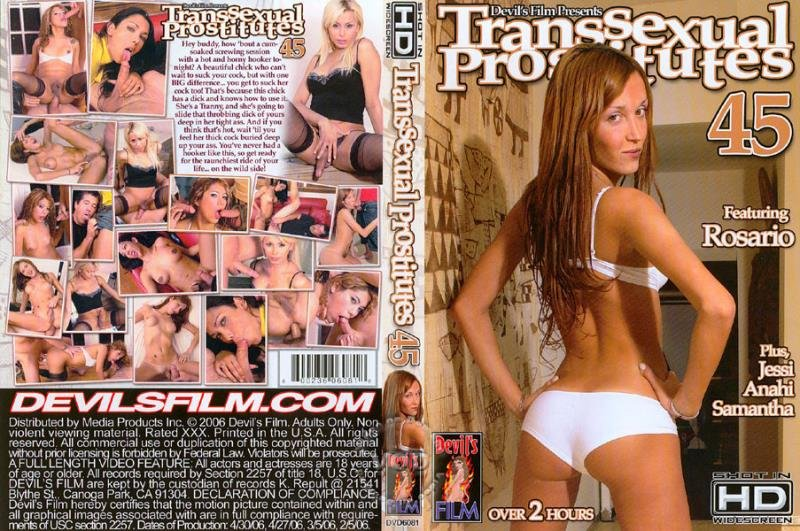 Devil's Films: (Paul Carrigan, Tom Moore, Anahi ) - Transsexual Prostitutes 45 [SD] (702.48 Mb)