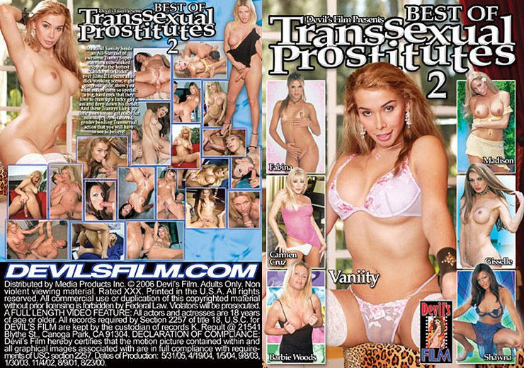 Devil's Films: (Barbie Woods, Carmen Cruz, Fabina, Gisselle) - Best Of Transsexual Prostitutes 2 [SD] (1.37 Gb)