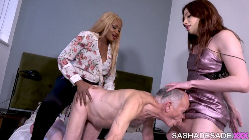 [SashaDeSade.XXX: (Sasha de Sade) - Visiting A Married Couple [FullHD] (1.08 Gb)