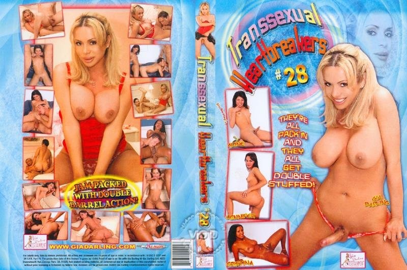 Gia Darling Entertainment: (Aline Fontinelly, Cristina Close, Gia Darling) - Transsexual Heartbreakers 28  [SD] (1.48 Gb)
