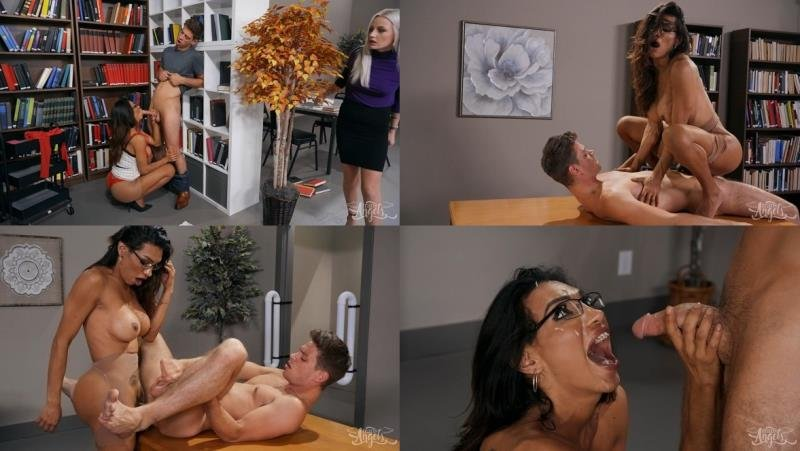 TransAngels.com: (Jessy Dubai) - Stroke Her in the Stacks [HD] (713.45 Mb)