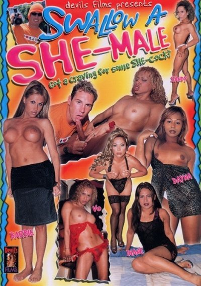 Devil's Films: (Shemale) - Swallow A She-Male 1 [SD] (1.15 Gb)