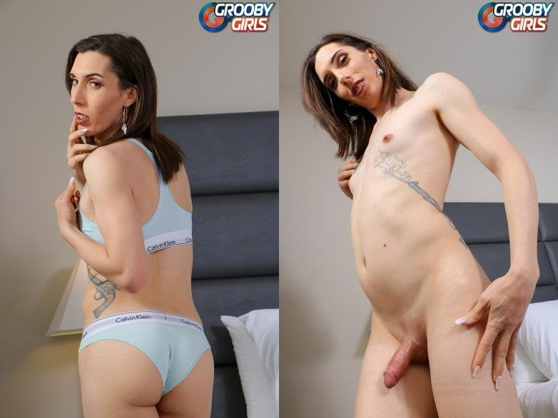 GroobyGirls.com: (Melanie Brooks) - Cums For You [HD] (569.16 Mb)