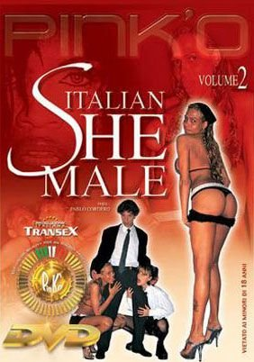 PinkO: (Shemale) - Italian She Male 2 [SD] (823.96 Mb)