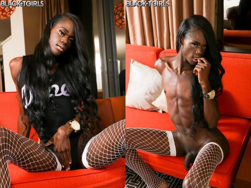 Black-TGirls.com: (Skinny But Plenty) - Skinny But Plenty Cums [HD] (586.62 Mb)