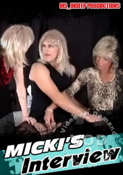 ms indeep Productions: (Gina, Mistress InDeep, Ms. Bobb) - Mickis Interview [SD] (319.22 Mb)