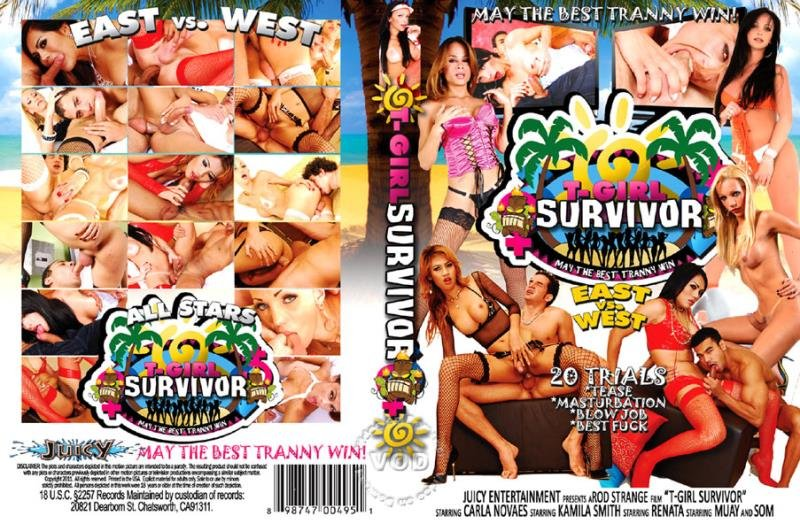 Juicy Entertainment: (Renata, Carla Novaes, Kamila Smith, Som, Muay) - T-Girl Survivor East Vs. West [SD] (1.02 Gb)