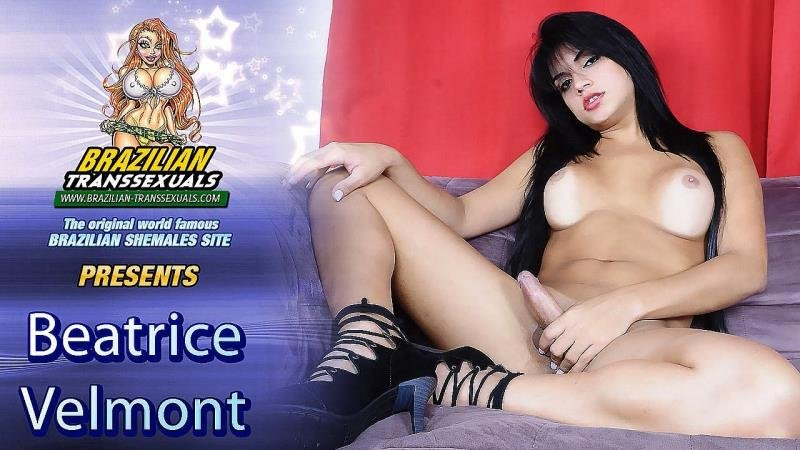 Brazilian-Transsexuals.com: (Beatricy Velmont) - Shoots Her Load! [HD] (444.84 Mb)