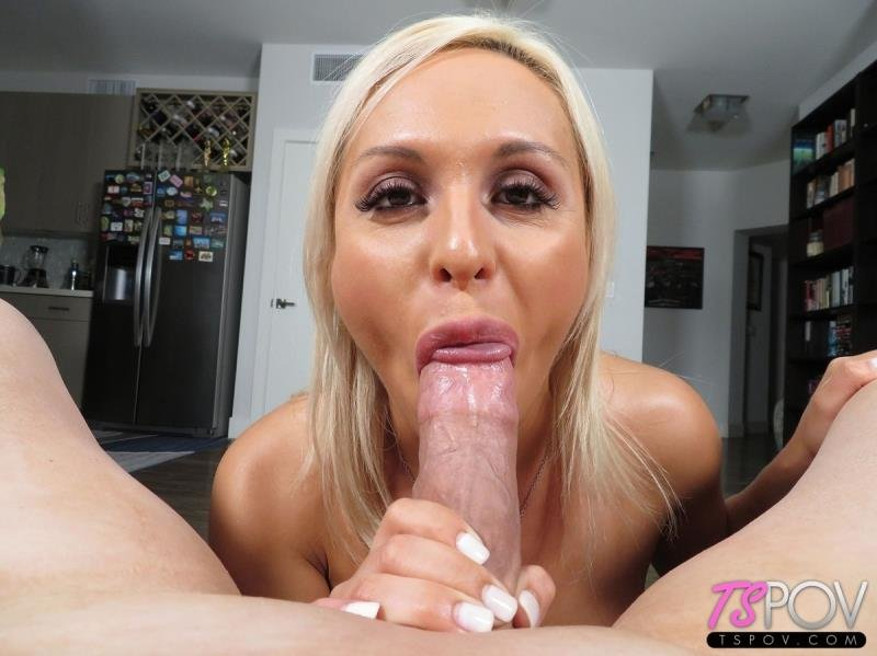 TsPov.com: (Chantal XO) - Petite Blonde Escort Shows Her BJ Skills  [FullHD] (948.06 Mb)