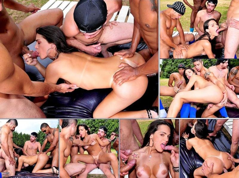 TrannyGangbangers.com: (Mickelly, Renan, Ricco, William) - Hardcore [HD] (712.88 Mb)