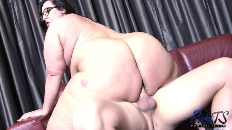 Pure-ts.com: (Sophia Marie) - SSBBW amazon TS gets her booty fucked [FullHD] (1.48 Gb)