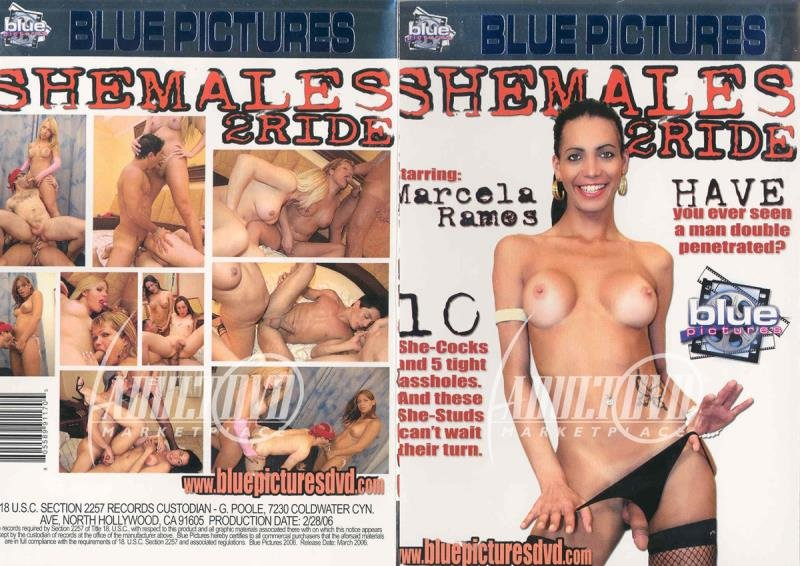 Blue Pictures: (Marcela Ramos, Fabiana, Claudia Betancourt) - SheMales 2 Ride [SD] (1.3 Gb)