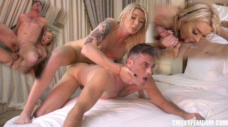 SweetFemdom.com: (Aubrey Kate, Lance Hart) - Fucked in a Hotel by Aubrey Kate [SD] (251.69 Mb)