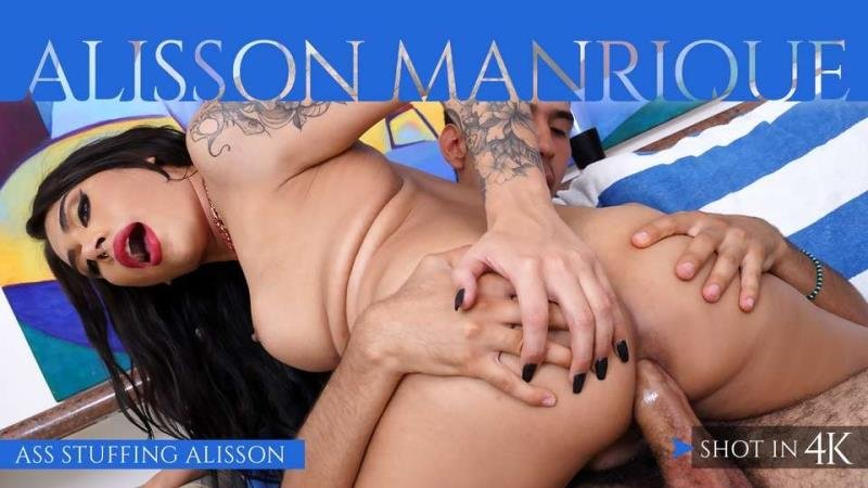 IKillItTS.com / Trans500.com: (Alisson Manrique) - Ass Stuffing Alisson [SD] (521.81 Mb)