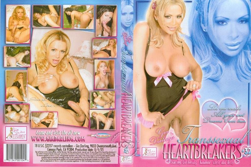Gia Darling Entertainment: (Laila, Kelly Ohana, Gia Darling) - Transsexual Heartbreakers 32 [SD] (1.48 Gb)
