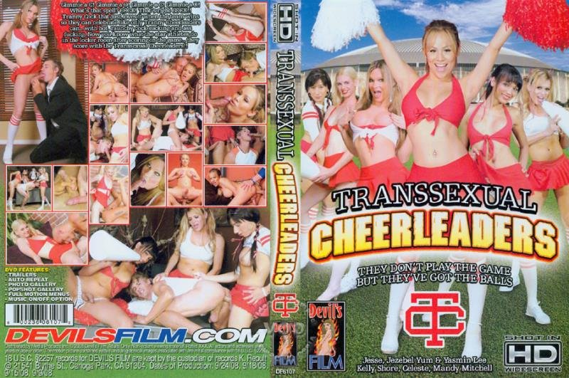 Devil's Film: (Yasmin Lee, Celeste, Mandy Mitchell, Jezebel Yum, Kelly Shore, Jesse Flores) - Transsexual Cheerleaders 1 [SD] (1.16 Gb)
