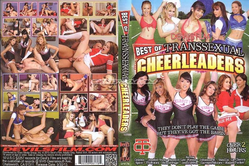Devils Films: (Celeste, Morgan Bailey, Jessica Fox, Jesse, Hazel Tucker, Carmen Moore) - Best Of Transsexual Cheerleaders [SD] (2.41 Gb)