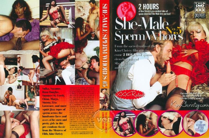 Kim Christy Films: (Unknown) - She-male Sperm Whores 5 [SD] (1,11 Gb)