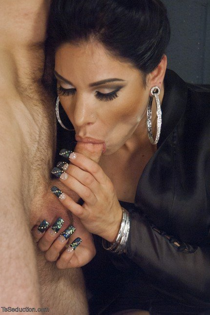 TsSeduction.com: (Laela Knight, John Smith) - Gonna Make Love in this Club - Laela Knight Fucks a Line Jumper [SD] (436,87 Mb)
