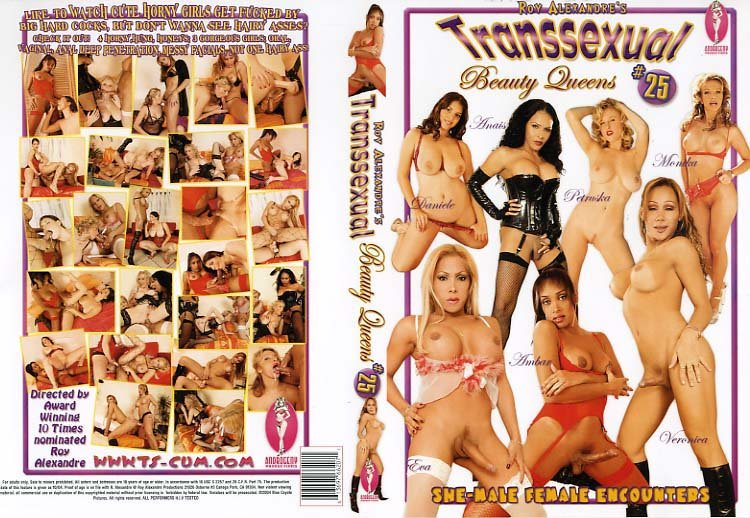 Blue Coyote Pictures / Androgeny: (Veronica, Eva, Monika, Anais, Ambar, Daniele, Petruska) - Transsexual Beauty Queens #25 [SD] (1,37 Gb)